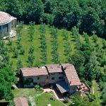 Aula della Cultura e Poggio del Fuoco, vista aerea