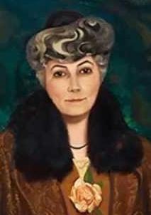 Elena Roerich, ritratto